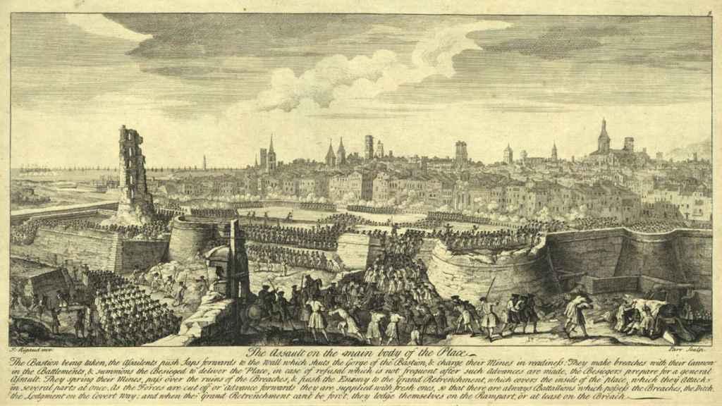 Asalto final sobre Barcelona del 11 de septiembre de 1714.