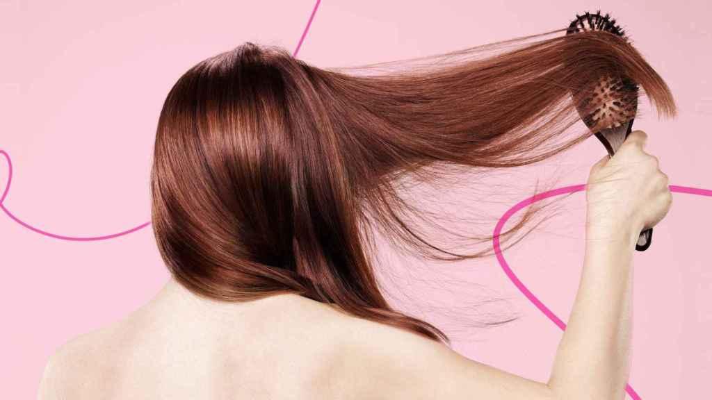 El pelo tiene un aspecto más saludable después del tratamiento.