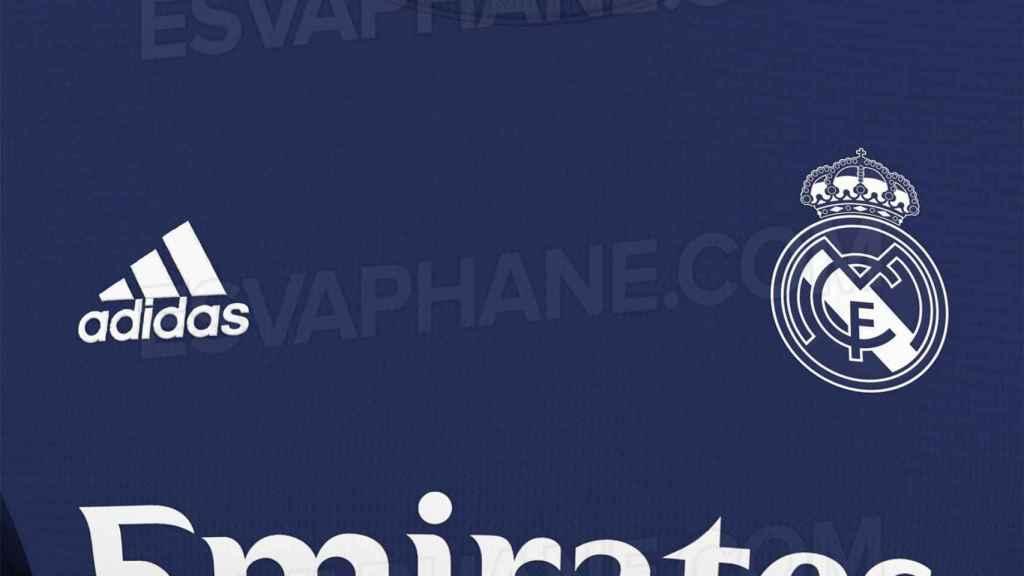 El diseño filtrado de la segunda camiseta del Real Madrid para la temporada 2021/2022. Foto: FootyHeadlines