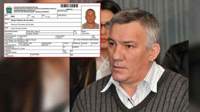 Sérgio de Carvalho se escondía en Marbella (Málaga) bajo la identidad falsa de Paul Wouter.