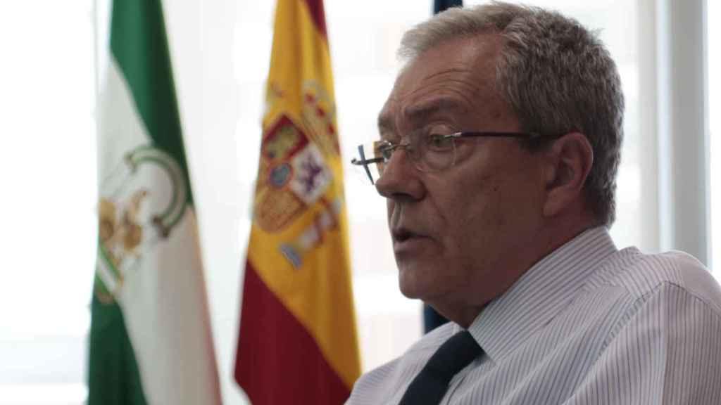Rogelio Velasco, consejero de la Junta de Andalucía