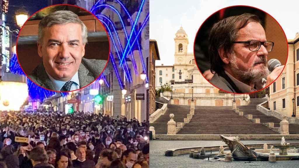 Los epidemiólogos Lluis Serra y Joan Caylà.