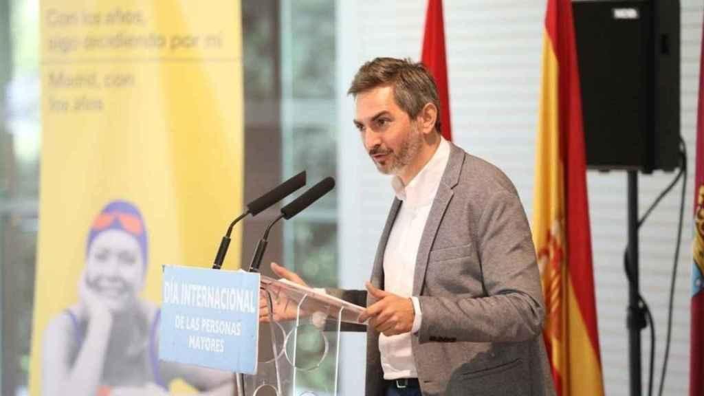 Pepe Aniorte, delegado del Área de Familias, Igualdad y Bienestar Social del Ayuntamiento de Madrid.