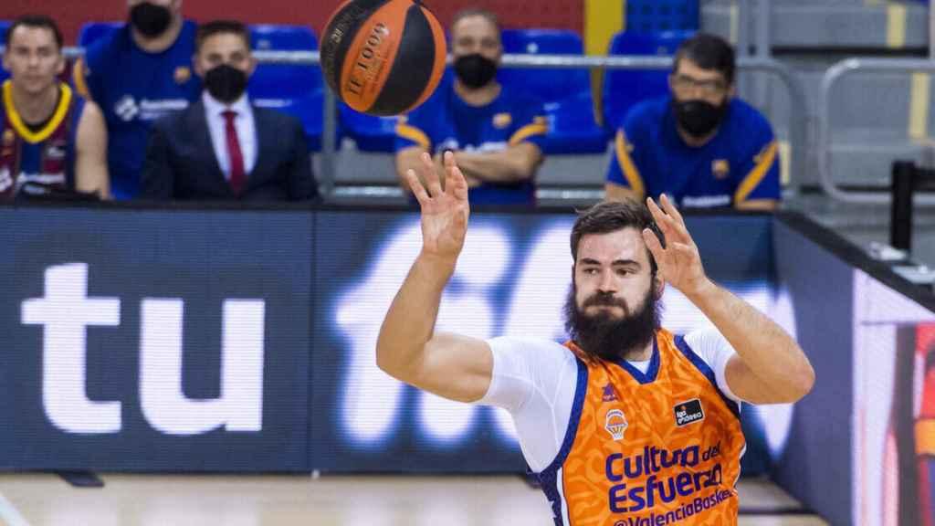 Dubljevic, jugador del Valencia Basket