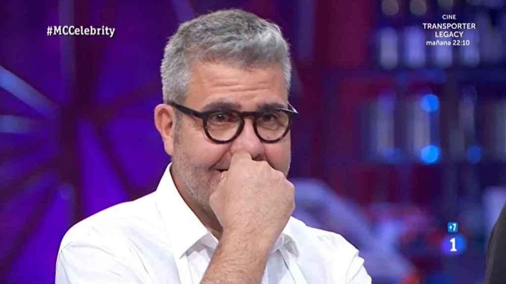 Florentino Fernández en la semifinal de 'MasterChef Celebrity'.
