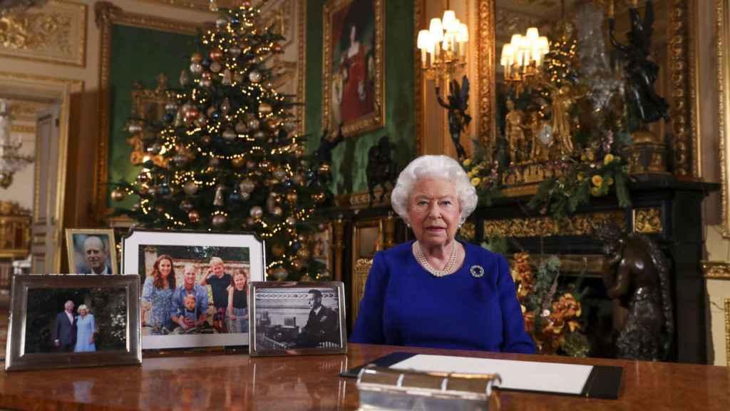 La reina Isabel, en su discurso de Navidad 2019.