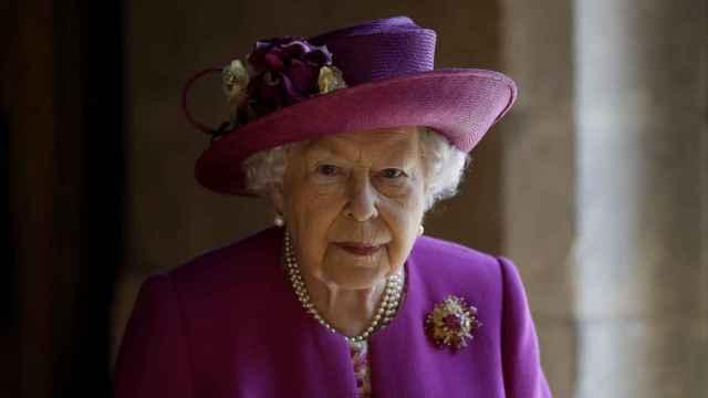 La reina Isabel, durante un acto en Londres.
