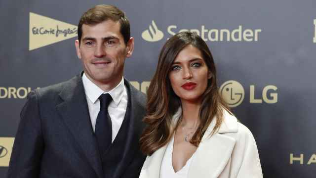 Iker Casillas y Sara Carbonero, durante un evento en Madrid.