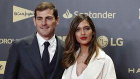 Iker Casillas y Sara Carbonero, durante un evento en Madrid.