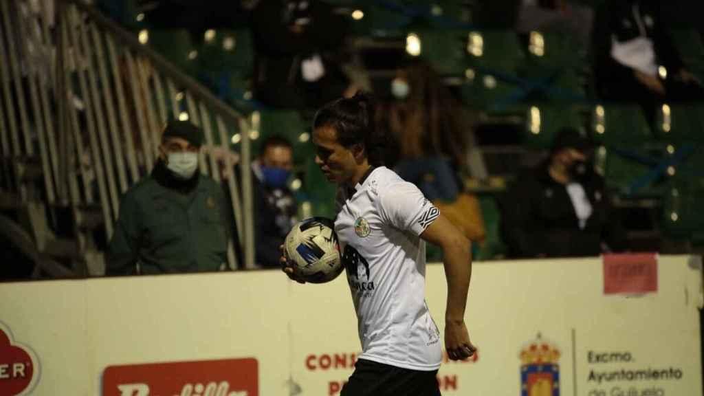 Fernando Morrández, jugador del Salamanca CF UDS