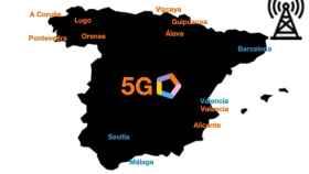 El 5G de Orange llegará a 93 ciudades de España antes de final de año