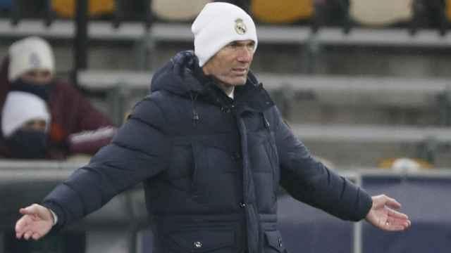 Zinedine Zidane en Kiev
