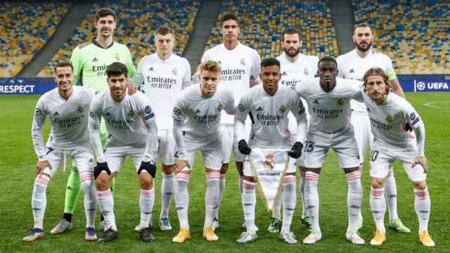 Once titular del Real Madrid ante el Shakhtar Donetsk