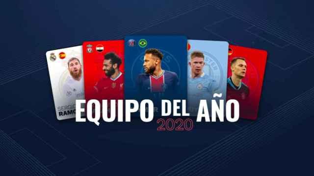 'Equipo del Año' de la UEFA 2020