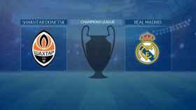 Streaming en directo | Shakhtar Donetsk - Real Madrid