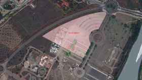 La parcela del actual recinto ferial de La Peraleda en la que se construirá el nuevo cuartel