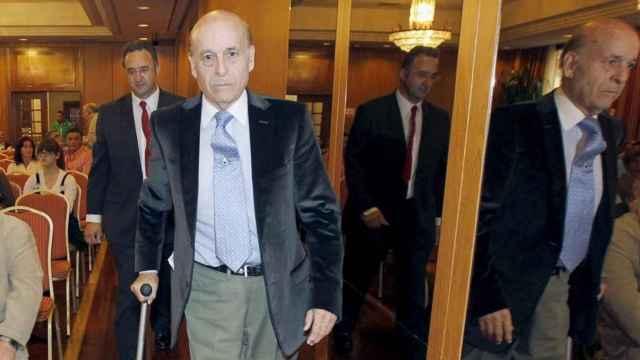 El expresidente de Cantabria Juan Hormaechea, en una imagen del 2011. Efe