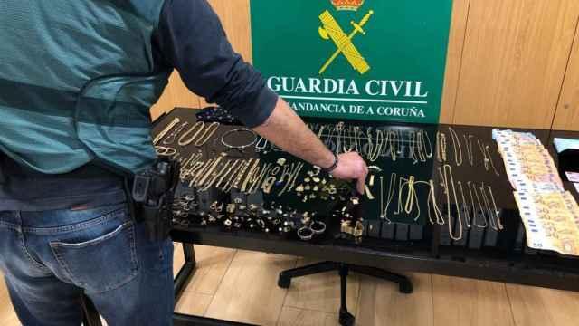 Imagen del material incautado en el marco de la Operación Pica Pica