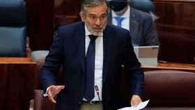 El consejero de Justicia de la Comunidad de Madrid, Enrique López. Efe