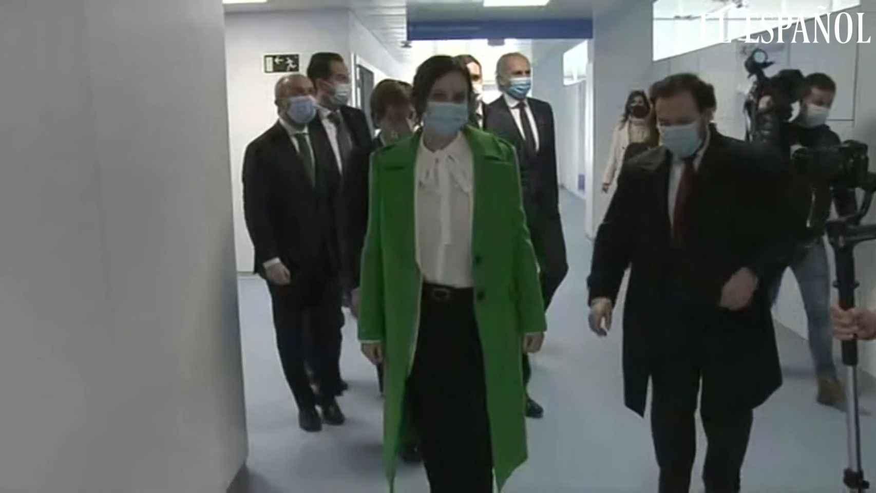 Ayuso inaugura el hospital de emergencias Enfermera Isabel Zendal