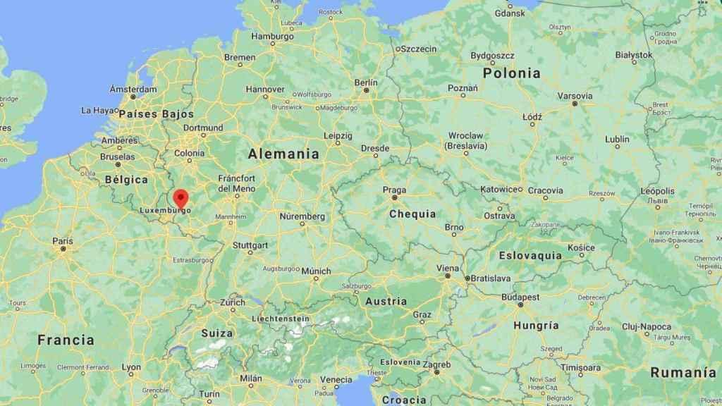 La localización de la ciudad en la que ha ocurrido el atropello.