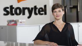 Lotten Skeppstedt, country manager de Storytel.