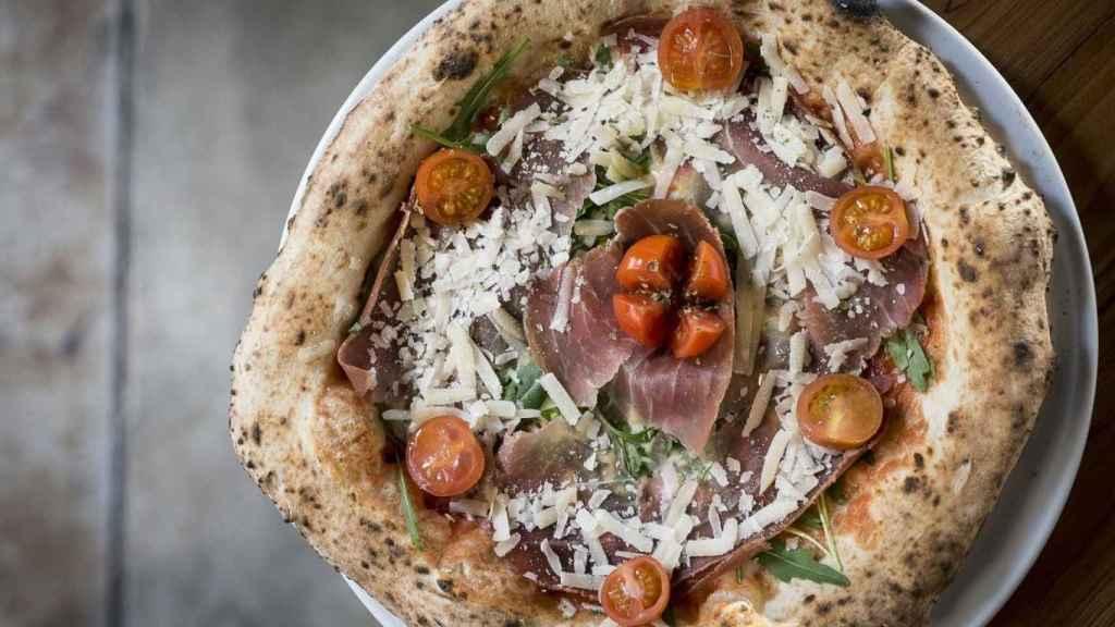 Las pizzas auténticas napolitanas de Grosso Napoletano