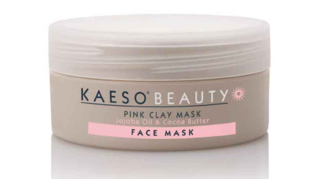 Las mascarilla rosa con efecto detox y antiedad que deja tu piel super suave.