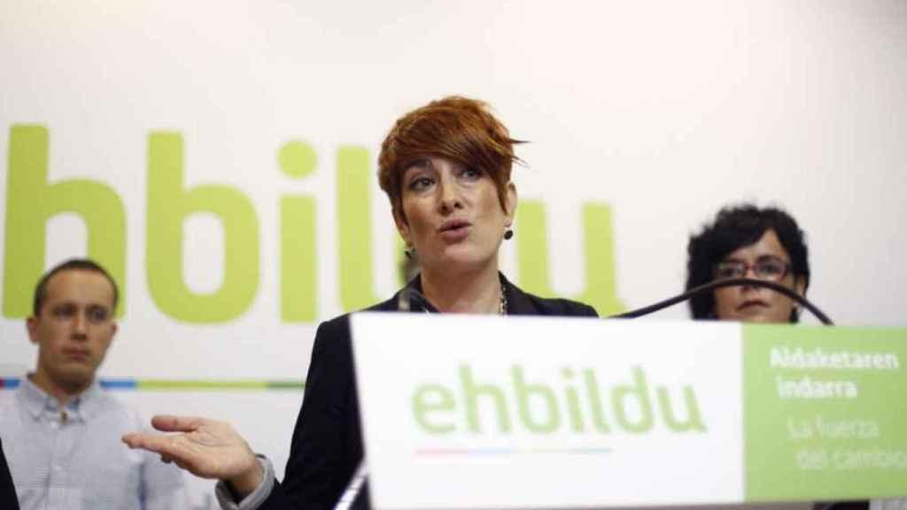 La portavoz de EH Bildu en el Parlamento de Navarra, Bakartxo Ruiz. Efe.