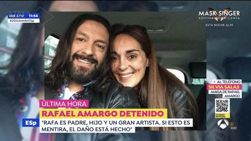 Silvia Salas, amiga íntima de Rafael Amargo, ha realizado unas declaraciones en 'Espejo Público'.