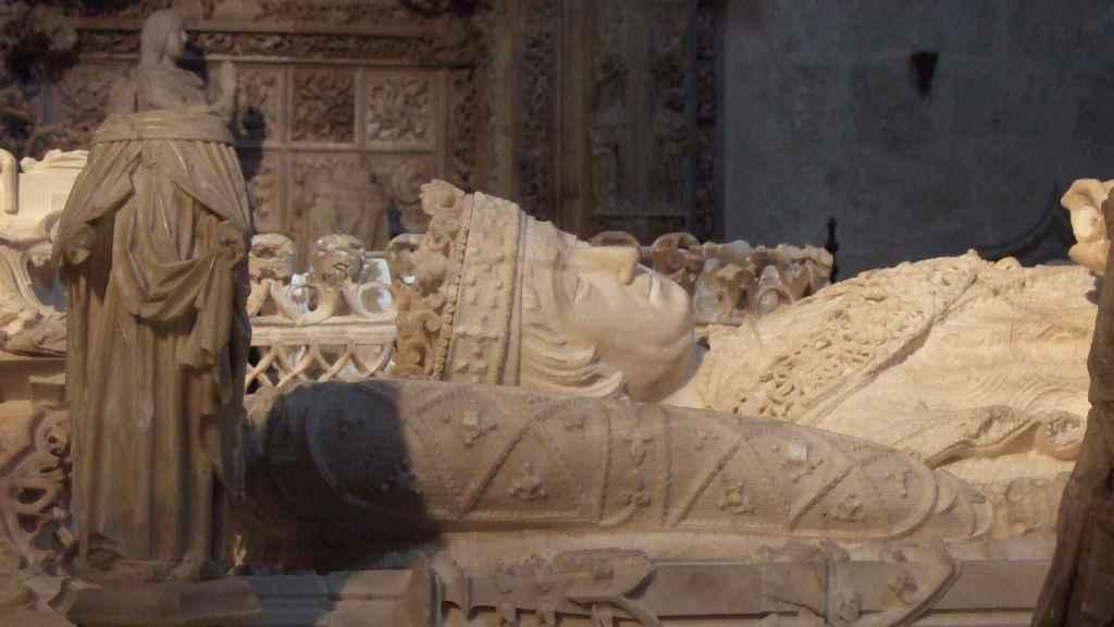 Tumba de Juan II de Castilla, en la Cartuja de Miraflores.