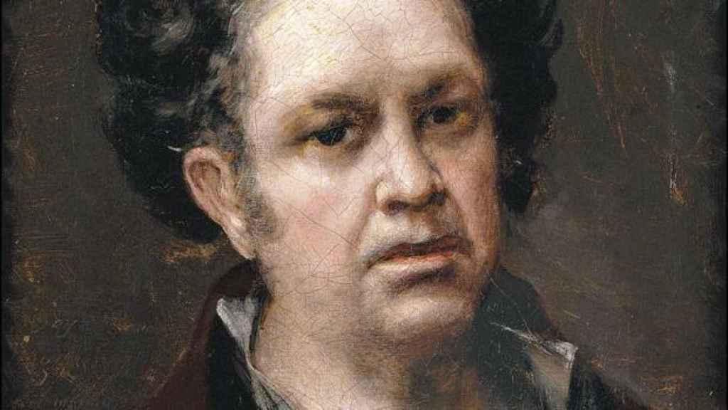 Autorretrato de Goya.