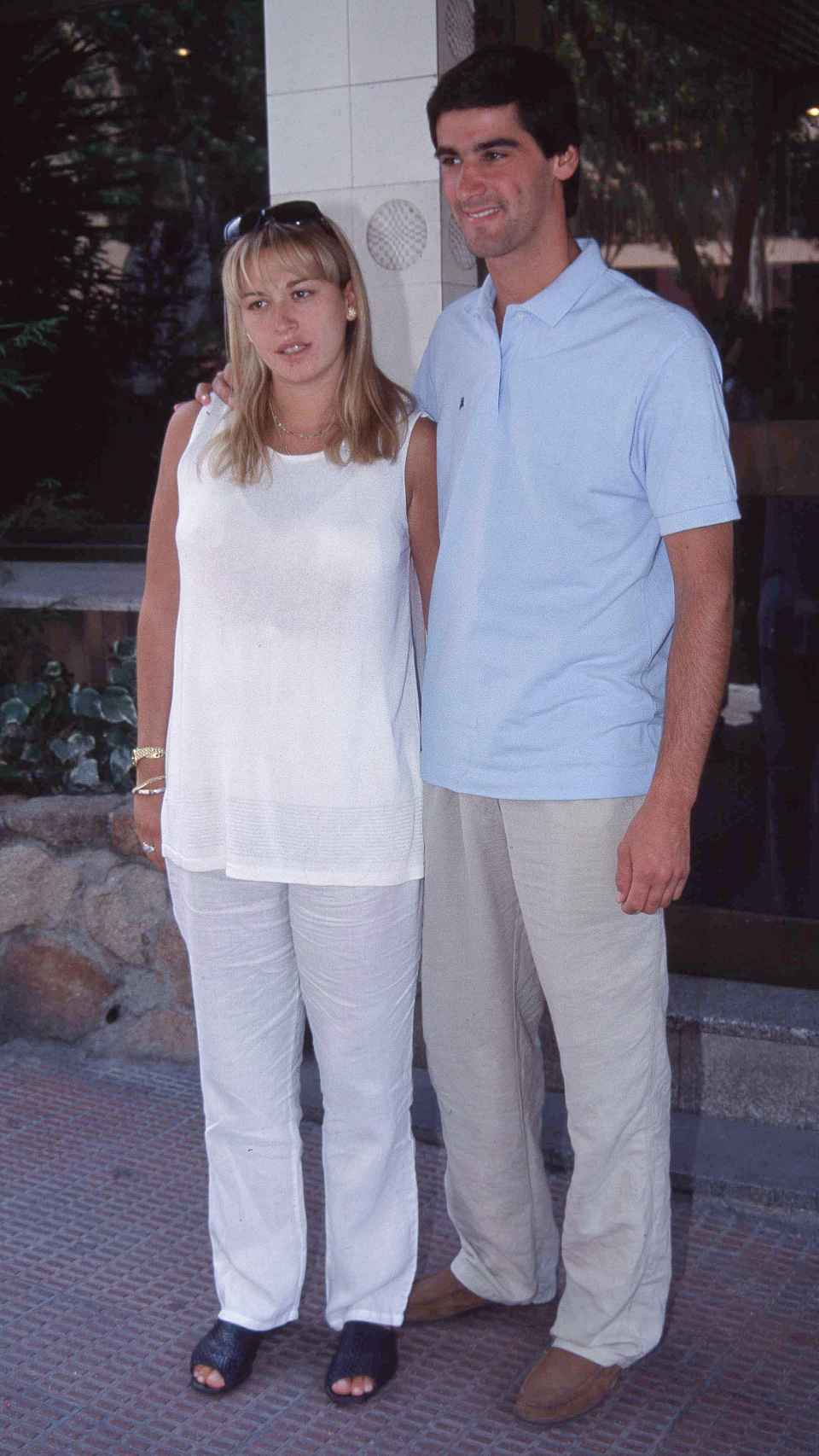 Jesús y Belén en una imagen tomada en 1999.