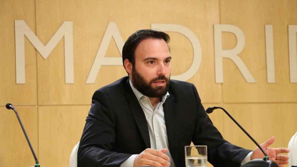 Ángel Niño es concejal del Ayuntamiento de Madrid por Ciudadanos.
