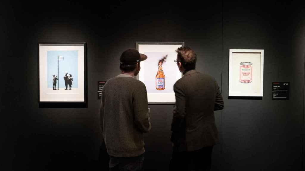 Sala de exposiciones de Banksy.