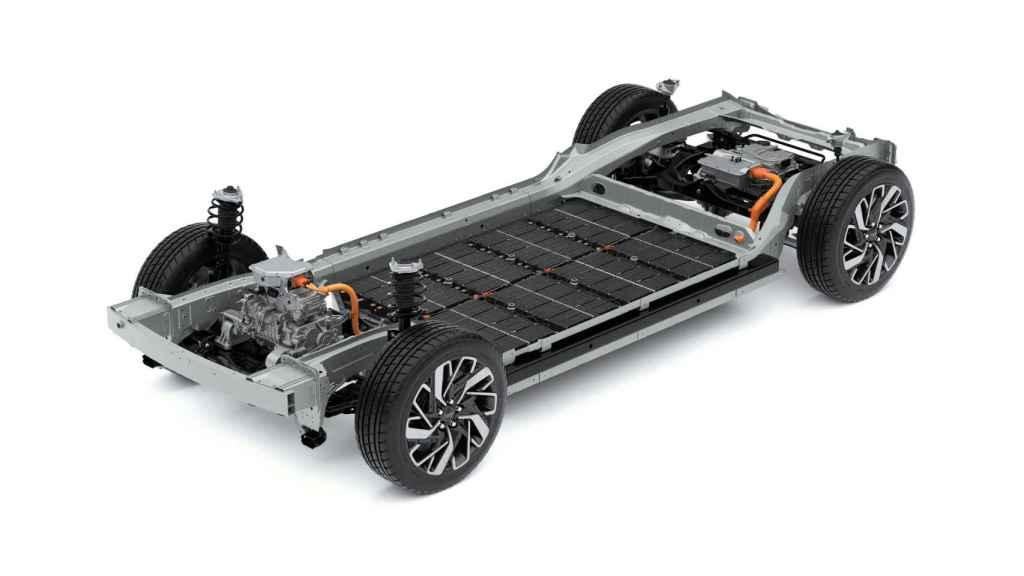 Plataforma de vehículos eléctricos.