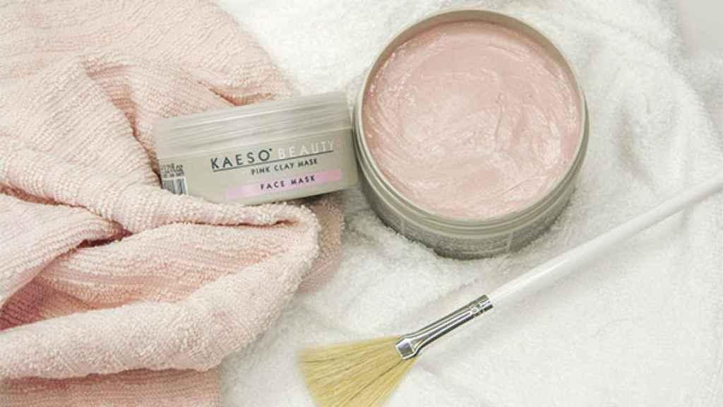 La mascarilla rosa con efecto detox y antiedad que deja tu piel super suave.