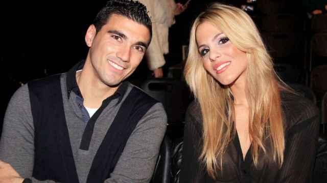 Noelia López y José Antonio Reyes en una imagen de archivo.