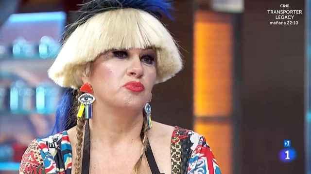 La Terremoto de Alcorcón minutos antes de su expulsión de 'MasterChef Celebrity'.