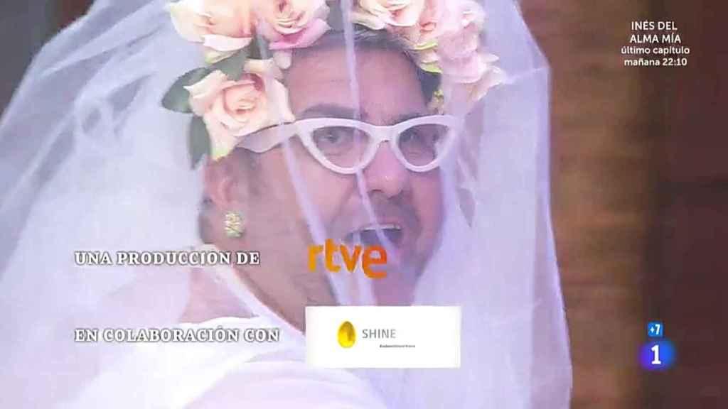 Florentino Fernández vestido de novia, en 'MasterChef Celebrity'.