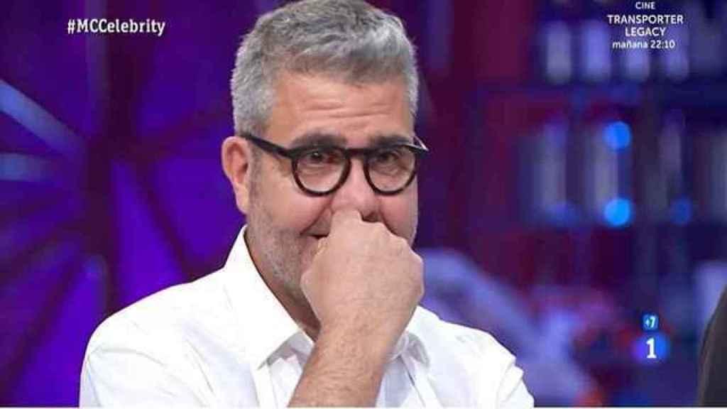 Florentino Fernández, en la semifinal de 'MasterChef Celebrity'.