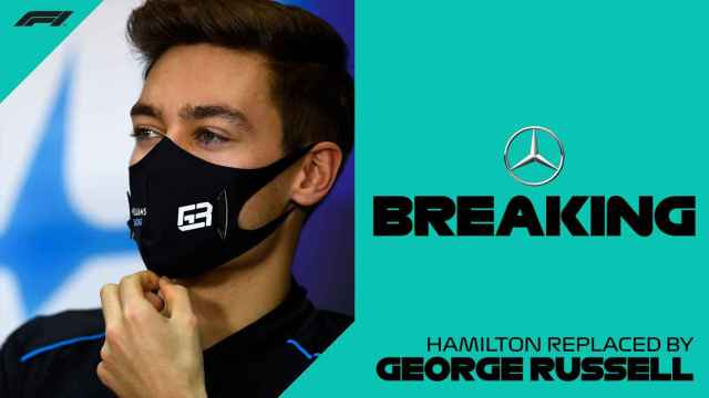 George Russell sustituirá a Hamilton en el GP de Sakhir