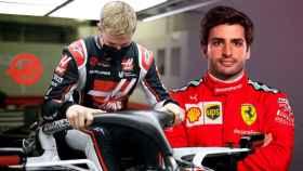 Mick Schumacher y Carlos Sainz