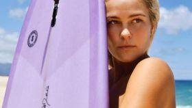 La surfista australiana Felicity Palmateer. Foto: Instagram (@flickpalmateer)