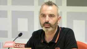 José Luis Arroyo, secretario general de Comisiones Obreras (CCOO) en Toledo
