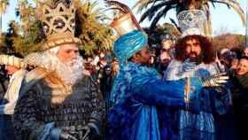 Los Reyes Magos el año pasado.