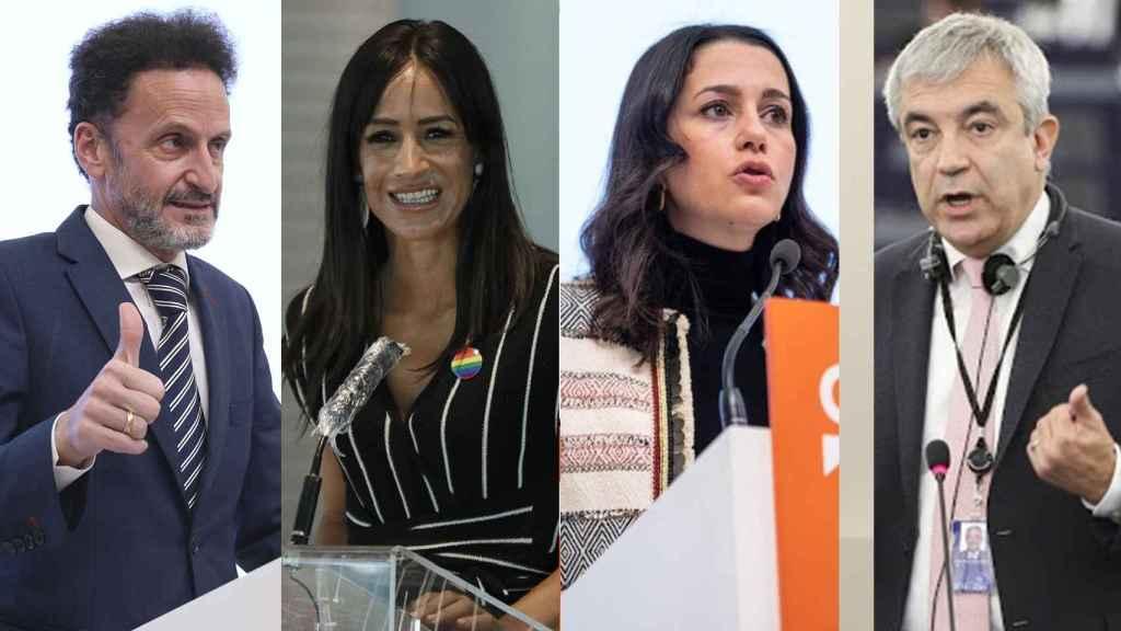 Edmundo Bal, Begoña Villacís, Inés Arrimadas y Luis Garicano, todos ellos dirigentes de Cs.