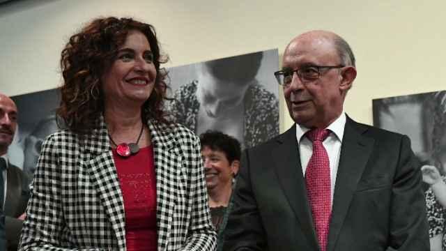 María Jesús Montero y Cristóbal Montoro.