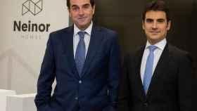 Borja García-Egotxeaga, CEO de Neinor Homes, y Jordi Argemí, consejero delegado adjunto.
