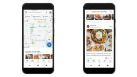 'Feed' de publicaciones de la comunidad de Google Maps.